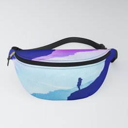 Violet dream of Isolation Fanny Pack