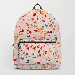 Blush Terrazzo Backpack
