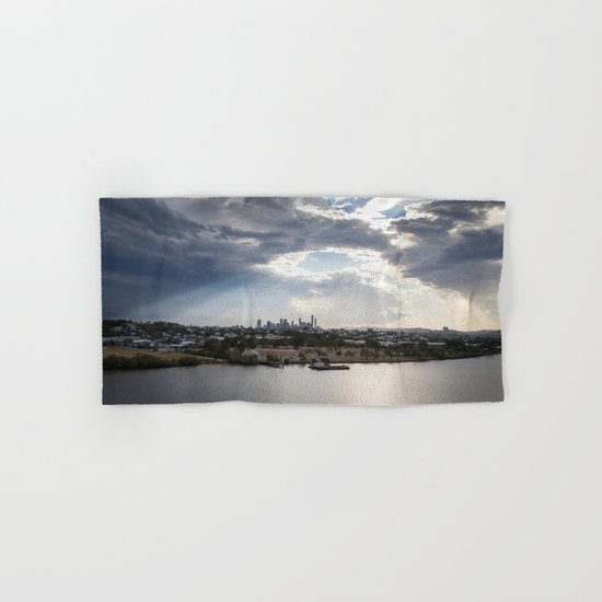 Shine on Brisbane Hand & Bath Towel