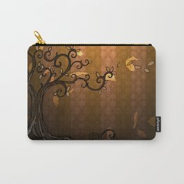 LEAVE - Autumn Amber Carry-All Pouch