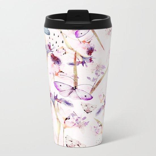 imagined plant Metal Travel Mug