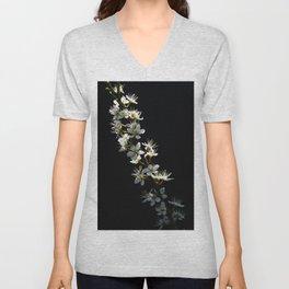 Hawthorn Flowers Unisex V-Neck