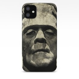 Frankenstein Grunge iPhone Case