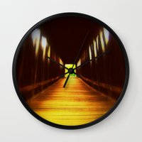 model Wall Clocks featuring Model  by HourAfterOur Collective