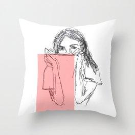 you hid Throw Pillow