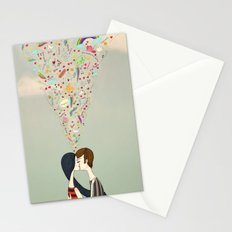 love thoughts Stationery Cards