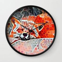 Chicken Dance Dreams Wall Clock