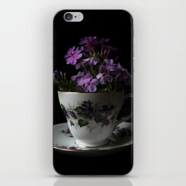 Botanical Tea Cup iPhone Skin