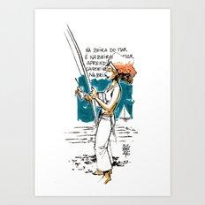 Capoeira 867 Art Print