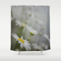 daisy Shower Curtains featuring Daisy  by Pure Nature Photos
