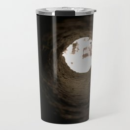 Drill Hole Travel Mug