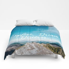 EXPLORE / DREAM / DISCOVER Comforters
