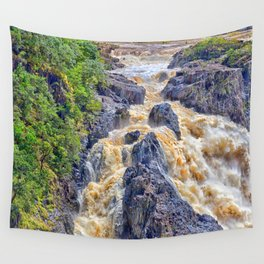 Powerful Barron Falls Wall Tapestry