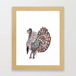 Tom Turkey Framed Art Print