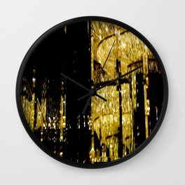 Vegas by Lika Ramati Wall Clock