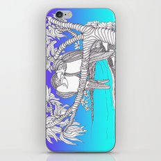 Valentine Love Birds in Paradise A Zentangle Illustration iPhone & iPod Skin