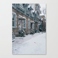Snow x MTL Canvas Print