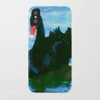 noir iPhone & iPod Cases featuring NOIR by FOXART  - JAY PATRICK FOX