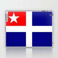 crete province flag Laptop & iPad Skin