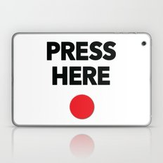 Press Here - Red Dot Laptop & iPad Skin