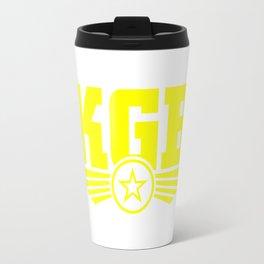 KGB Logo Travel Mug