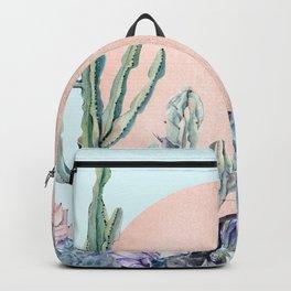 Desert Sun + Gemstones Bronze Turquoise Backpack