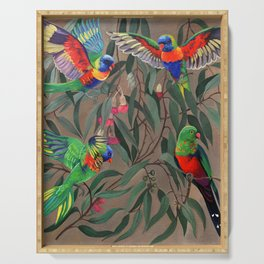 Birds of Paradise. Serving Tray