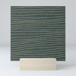 jungle stripe Mini Art Print