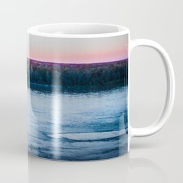 Crossing Over At Dusk Coffee Mug