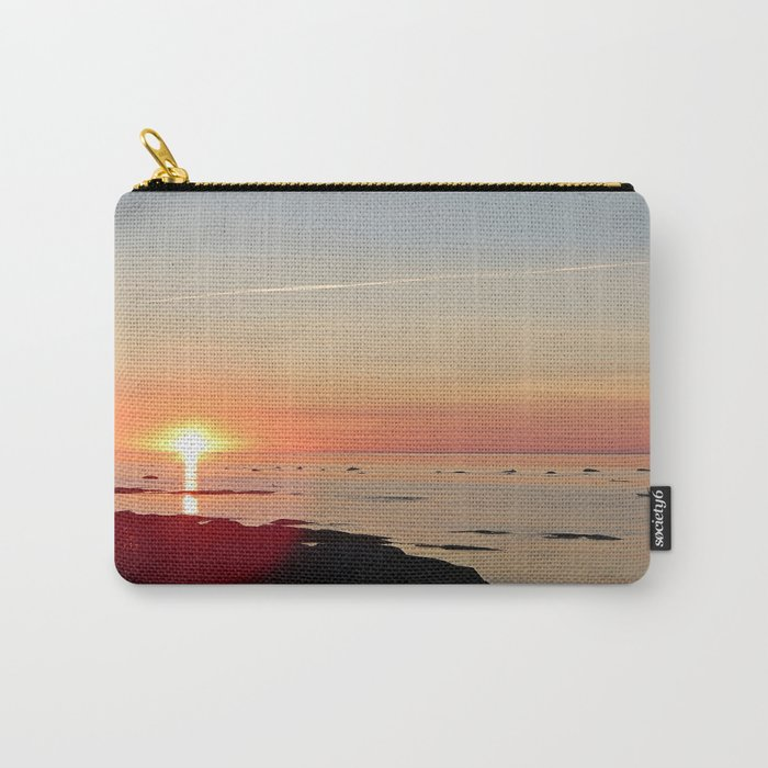 Kayak and the Sunset Carry-All Pouch