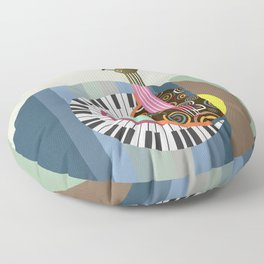 Music Theory II Floor Pillow