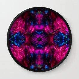 Eye Kaleidoscope Candy Wall Clock