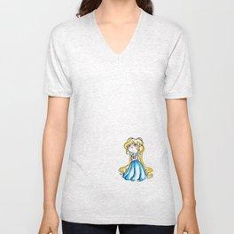 Moon Princess Unisex V-Neck