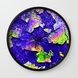 chipping paint 1 Wall Clock