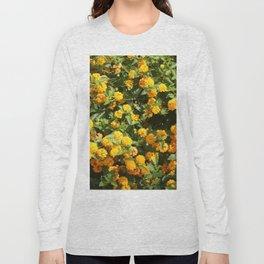 Blooming Lantana Plant Long Sleeve T-shirt