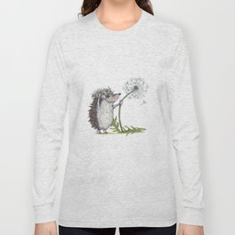Hedgehog & Dandelion Long Sleeve T-shirt
