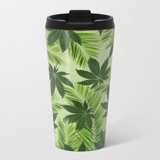 Tropical High Metal Travel Mug