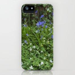 Wild Flower Wood iPhone Case