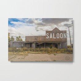 Saloon, Wabek, North Dakota 1 Metal Print