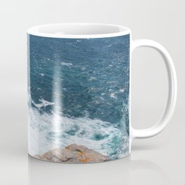 Cliffs off Dún Aonghasa Coffee Mug