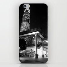 Central Pier [Black & White] iPhone & iPod Skin