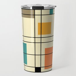 1950's Abstract Art Travel Mug