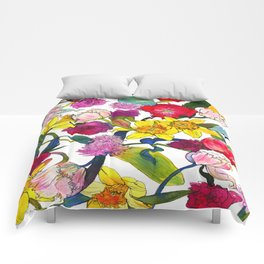 Tulips & Daffodils  Comforters