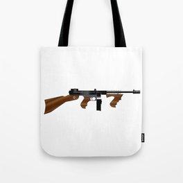 Tommy Gun Tote Bag
