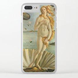 The Birth of Venus / Nascita di Venere Clear iPhone Case