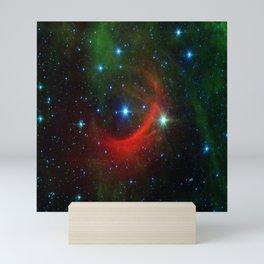 Kappa Cassiopeiae star in the constellation Cassiopeia (NASA/JPL-Caltech) Mini Art Print