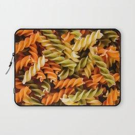 Pasta Noodles Pattern (Color) Laptop Sleeve