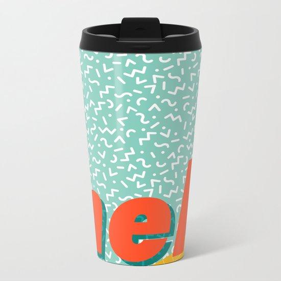 Meh Metal Travel Mug
