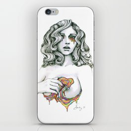 Love Chasm (VACANCY zine) iPhone Skin