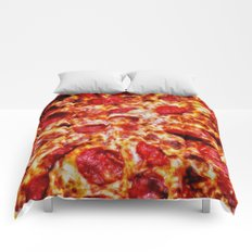 Pizza Painting Comforters